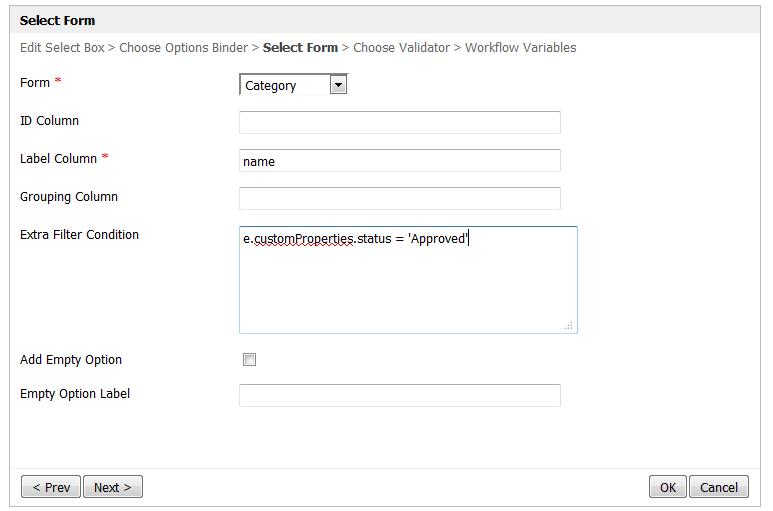 Default Form Options Binder - Knowledge Base for v4 - Joget ...