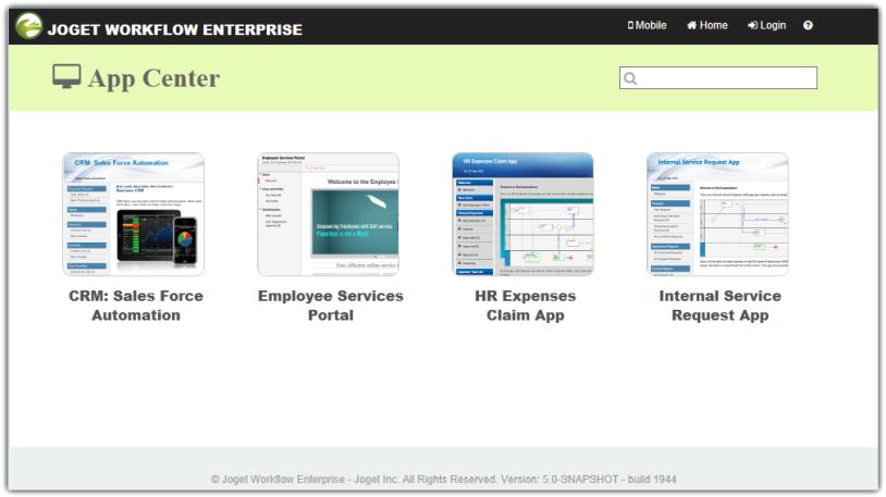 Introducing Apps - Knowledge Base for v5 - Joget | COMMUNITY