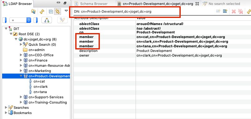 LDAP Directory Manager - Knowledge Base for v6 - Joget