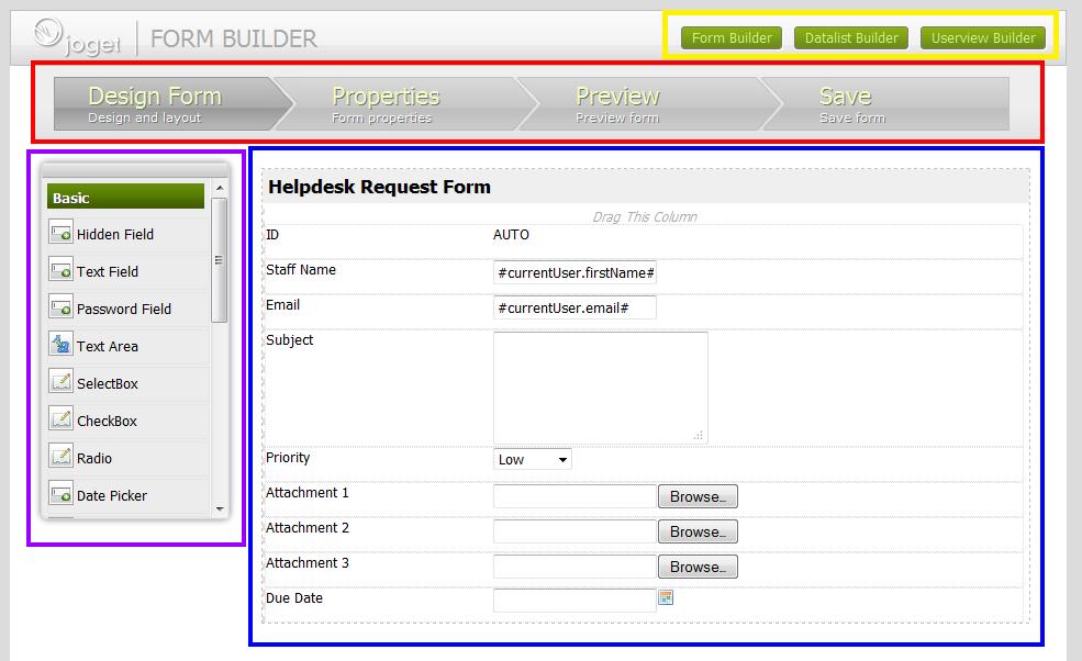 html form builder source code