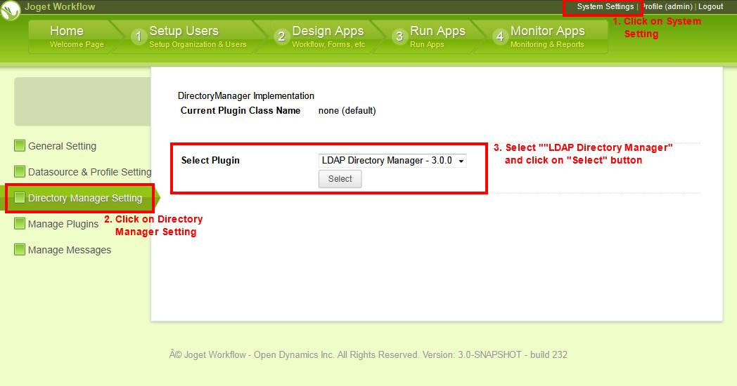 LDAP Directory Manager Plugin for LDAP or Active Directory
